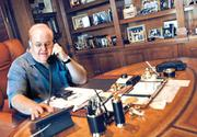 Lou Pearlman in his office in 2006. He is now serving a 25-year prison term.