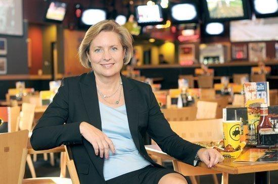 Sally Smith, CEO of Buffalo Wild Wings
