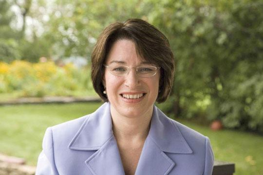 U.S. Sen. Amy Klobuchar, D-Minn., has joined with Republicans to try to repeal the new medical-device tax that goes into effect in January.