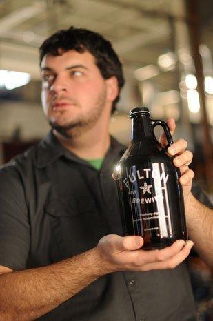 Ryan Petz, president of Fulton Brewing Co.
