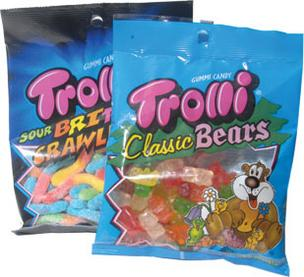 Farley's & Sathers Candy Co., the maker of Trolli Classic Bears candy, is merging with Ferrara Pan Candy Co., a Chicago-area company best known for its Lemonheads and Atomic Fireballs candies.