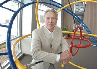 John Mathiesen, CEO of playground equipment manufacturer Xccent, says an SBA loan helped his company expand and hire.