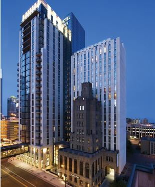 The Hotel Ivy is in receivership.