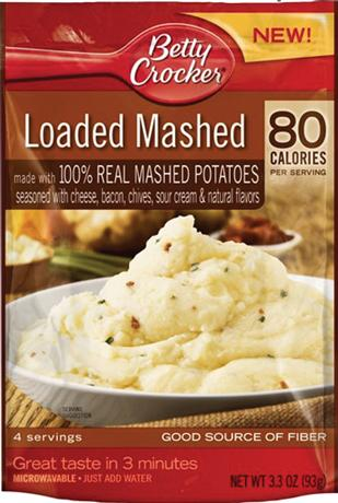 In June, Idahoan Foods told General Mills to recall its 'loaded' instant-potato products.