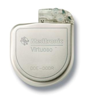 Medtronic, which makes devices such as this pacemaker, bought ATS Medical Inc.