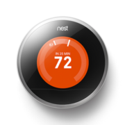 Nest Labs' learning thermostat.