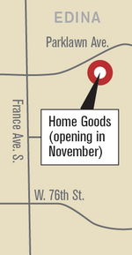 HomeGoods signs lease in Edina