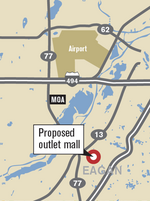 Upscale outlet mall planned for Eagan