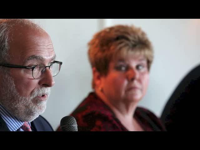 Robert Gioia and Peg Overdorf discuss Buffalo's developing waterfront.