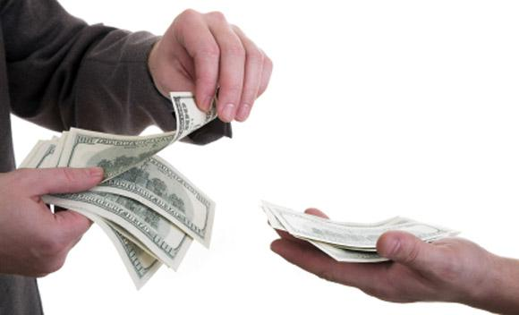 Banks pay lower interest rates for lending to small businesses.
