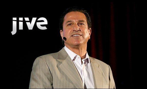 Jive Software CEO Tony Zingale.
