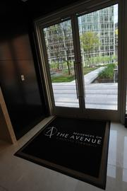 The courtyard entrance to the Residences on The Avenue.