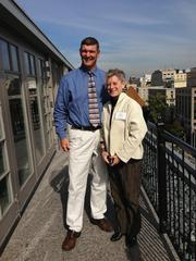 Jim Rill of Rill Architects and architect Amy Gardner were featured speakers at Northern Trust's 2012 Real Estate Advisors Roundtable Series at The Hay-Adams on Oct. 17 with Home & Design magazine. The architects discussed innovative solutions to greening homes.