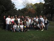 SAP employees gave back during a company-sponsored day of service organized by Volunteer Fairfax. While serving at the American Horticultural Society, volunteers mulched, repaired fences and painted.