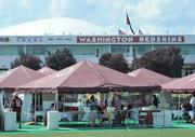 The Ashburn training facility hosted its first Redskins training camp in July 2000. The move was the first time the team opened the complex to visitors in team history.