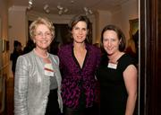 "K&L Gates hosted the annual ""Women in Law and Business"" reception at the Phillips Collection on Oct. 17 featuring guest speaker Claire Shipman, ABC News senior national correspondent. Shipman spoke to a crowd of nearly 20 guests about how women are achieving increased professional power and reshaping the workplace to fit their career and personal goals. The reception was organized by partners Diane Ambler and Melanie Brody. From left, Ambler, Shipman and Brody."