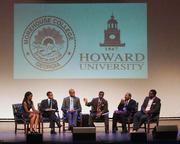 Events for the AT&T Nation's Football Classic began Aug. 30 with the Presidential Symposium at Howard University. Morehouse College President Robert Franklin and Howard University President Sidney Ribeau hosted the event. Panelists discussed the impact of the youth vote on the 2012 elections during the Presidential Symposium.
