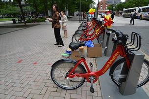 Fairfax County officials are trying to find a way to test the Capital Bikeshare program.