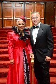 D.C. Chamber CEO Barbara Lang and Akridge President Matt Klein at the Chamber's Choice Awards Gala, held Oct. 27 at the Marriott Wardman Park.
