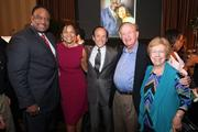 In celebration of the 10th anniversary of the Michael Wilbon and James  Brown Golf Classic, the now two-day event featured a Celebrity Roast on  Sept. 27 at Lansdowne Resort. Wilbon and Brown were on the hot seat  while their friends and notables from the sports world shared stories  about the two and made light-hearted jabs.