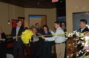 More than 100 members of the Dulles Regional Chamber of Commerce and invited guests celebrated the Coyote Grille's grand opening ribbon cutting ceremony in Fairfax on Feb. 4.