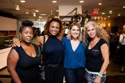 "On July 30, celebrity hairstylist Luigi Parasmo and celebrity plastic surgeon Dr. Ayman Hakki of Luxxery Medical Boutique hosted their first ""Botox & Locks"" event. The beauty gurus partnered for a night of glamour that included discount services on Botox, fillers, and hair and make-up appointments. From left, Luxxery's Ena Davis, Hot 99.5's Tiffany Keaton and Sarah Fraser, and Luxxery's Chief Operating Officer Hiba Bittar."