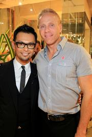 Washington is usually more known for its legislation than its looks, but make-up artist Erwin Gomez is doing his part to change that. Gomez, left, here with Urban Adventure Cos. President David von Storch, recently launched his newest salon, Karma by Erwin Gomez, and celebrated with a Sept. 13 launch party.