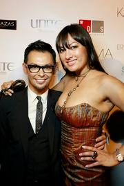 Washington is usually more known for its legislation than its looks, but  make-up artist Erwin Gomez is doing his part to change that. Gomez,  left, here with Lanmark Technology Inc.'s Lani Hay, recently launched his newest salon,  Karma by Erwin Gomez, and celebrated with a Sept. 13 launch party.