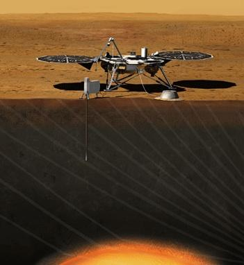 NASA announced Monday it has decided to launch a low-cost robotic lander in 2016 to study the core of Mars.