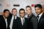 Washington is usually more known for its legislation than its looks, but  make-up artist Erwin Gomez is doing his part to change that. Gomez  recently launched his newest salon, Karma by Erwin Gomez, and celebrated  with a Sept. 13 launch party. From left, Karma by Erwin Gomez Partners Kunal Shah, Charles Paret, Erwin Gomez, Brook Rose and Vinoda Basnayake.