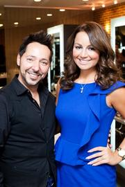 "On July 30, celebrity hairstylist Luigi Parasmo and celebrity plastic  surgeon Dr. Ayman Hakki of Luxxery Medical Boutique hosted their first  ""Botox & Locks"" event. The beauty gurus partnered for a night of  glamour that included discount services on Botox, fillers, and hair and  make-up appointments. Luigi Parasmo and WPGC 95.5's Sunni And The City."