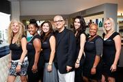 "On July 30, celebrity hairstylist Luigi Parasmo and celebrity plastic  surgeon Dr. Ayman Hakki of Luxxery Medical Boutique hosted their first  ""Botox & Locks"" event. The beauty gurus partnered for a night of  glamour that included discount services on Botox, fillers, and hair and  make-up appointments. Luxxery Medical Boutique staff."