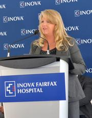 Inova Women's Hospital and Inova's Children's Hospital broke ground Sept. 10 on a new 665,000-square-foot, 12-story space. The event was attended by plenty of public officials and executives including Maureen McDonnell, First Lady of Virginia.