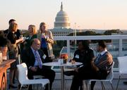 McDermott Will & Emery and 1,000 or so of the law firm's closest friends went to the rooftop Oct. 16 for its Washington office opening reception.