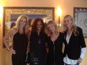 Knock Out Abuse Against Women celebrated its fall kick-off event Sept.  12 at Café Milano in Georgetown. Attendees included, from left, 2012 KOA co-chairs Michelle Schoenfeld and Charrisse Jackson-Jordan with co-founders Cheryl Masri and Jill Sorenson.