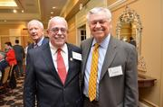Leadership Fairfax held its 16th annual Northern Virginia Leadership  Awards on Nov. 8 at Westwood Country Club in Vienna. The awards  celebrate the leaders who make a difference in the Fairfax and  surrounding communities. Congressman Gerry Connolly, left, with Jim  Cleveland.