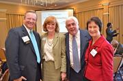 Leadership Fairfax held its 16th annual Northern Virginia Leadership  Awards on Nov. 8 at Westwood Country Club in Vienna. The awards  celebrate the leaders who make a difference in the Fairfax and  surrounding communities. From left,Jim Corcoran of the Fairfax Chamber  of Commerce, Elizabeth Murphy of Leadership Fairfax, Matt Brennan of  Brennan & Waite and Fairfax County Board of Supervisors Chairman  Sharon Bulova.