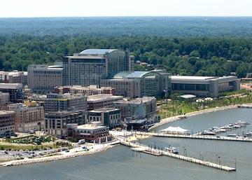 MGM says it remains committed to building a casino at National Harbor in Prince George's County.