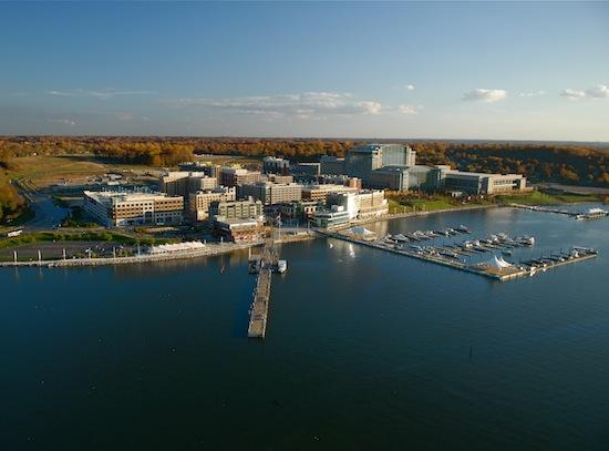 A new report says Maryland could handle a sixth casino location at National Harbor, above, in Prince George's County.