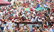 A single-day training camp attendance record was set on Aug. 6, 2011, when 29,337 fans visited for Fan Appreciation Day.