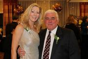 The Greater Reston Chamber of Commerce celebrated its 30th anniversary  on Dec. 1 at the Sheraton Reston Hotel. Karen Cleveland of the Cleveland Group and Matt Brennan of Brennan & Waite.