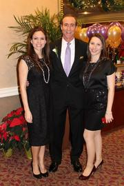 The Greater Reston Chamber of Commerce celebrated its 30th anniversary  on Dec. 1 at the Sheraton Reston Hotel. From left, Ashley Hunter, Mark Ingrao and Amy Marlow, all of the Greater Reston Chamber of Commerce.