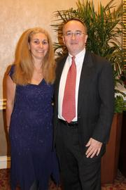 The Greater Reston Chamber of Commerce celebrated its 30th anniversary  on Dec. 1 at the Sheraton Reston Hotel. Patricia Cavalieri and David Lawrence Peter.