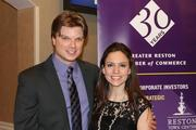 The Greater Reston Chamber of Commerce celebrated its 30th anniversary  on Dec. 1 at the Sheraton Reston Hotel. Chris Hunter and Ashley Hunter of the Greater Reston Chamber of Commerce.