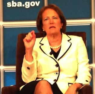 The House treated SBA Administrator Karen Mills better than most agency heads in its bill funding the government for the next six months.