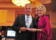 The USO of Metropolitan Washington glammed it up Hollywood-style during its Oct. 11 Stars and Stripes Benefit for the Troops at the Sheraton Pentagon City. DynCorp International President Steve Schorer and actress Christine Ebersole.
