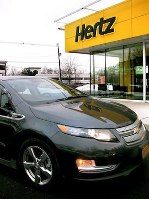 Hertz Global Holdings is acquiring rival Dollar Thrifty for $2.3 billion.