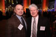 Mark Avallone of Potomac Wealth Advisors LLC, left, and Rick Gordon of Radio King Orchestra caught up at the Washington Business Journal's Book of Lists celebration.