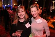 Mandy Prather, left, and Nancy Force, both of Post Apartment Homes, enjoyed the festivities at the Washington Business Journal's Book of Lists celebration.