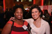 Kim Cameron, left, and Zahra Jilani represented the American Diabetes Association at the Washington Business Journal's Book of Lists celebration.